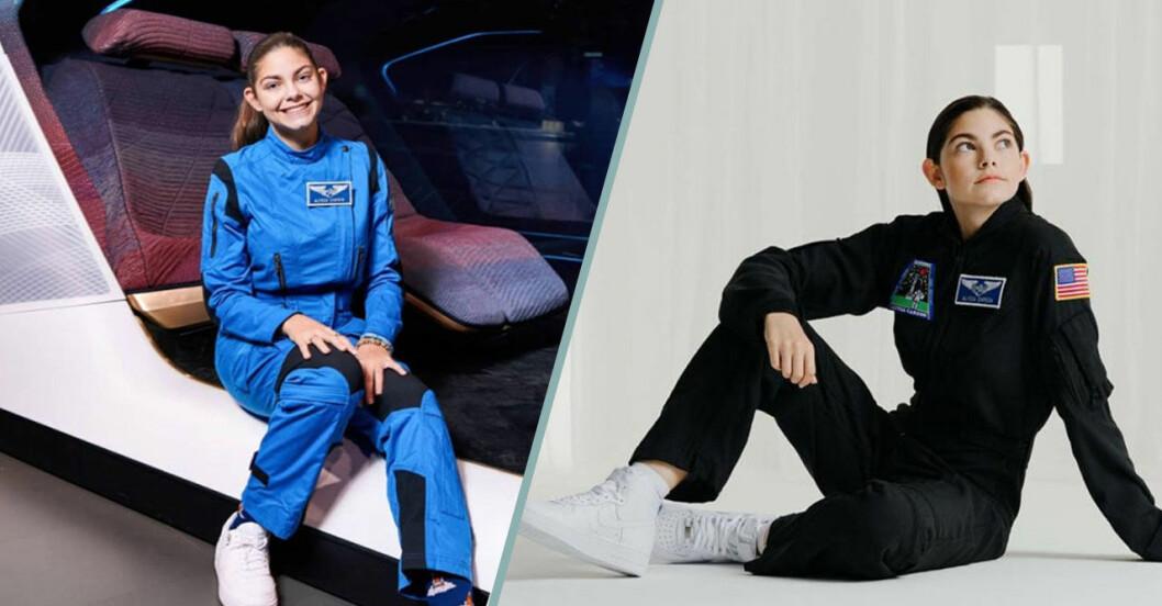 Alyssa Carson – yngsta att ta examen från Advanced space Academy
