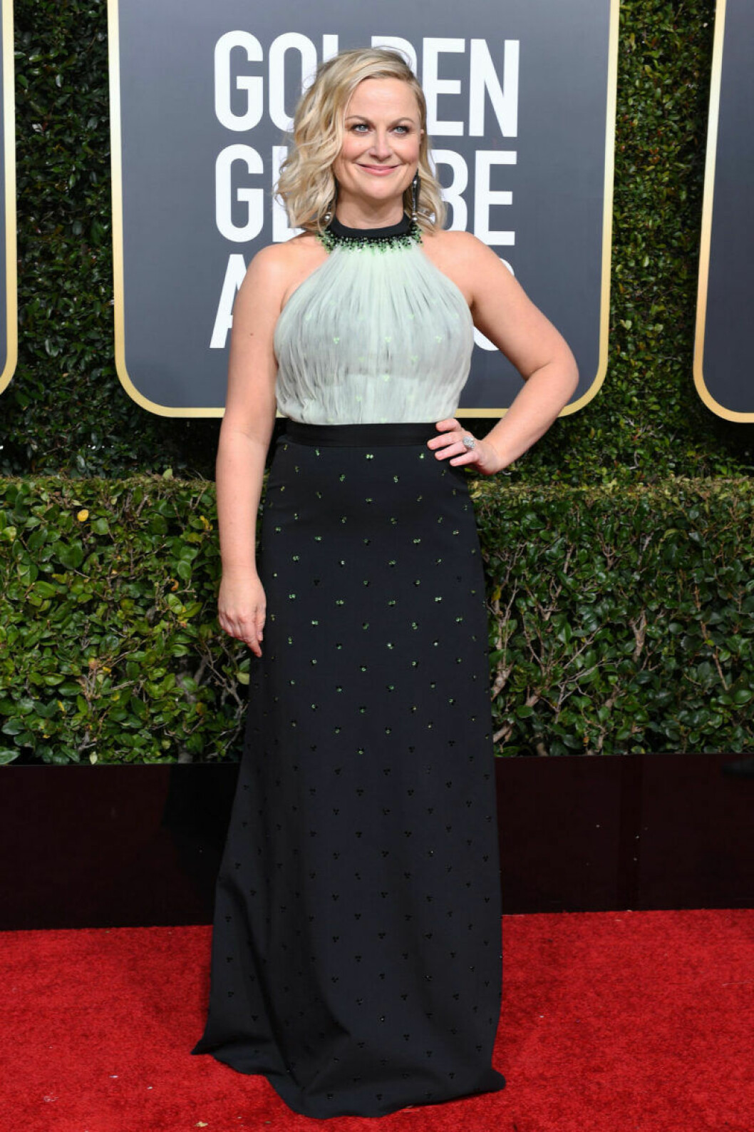 Amy Poehler på Golden Globe 2019