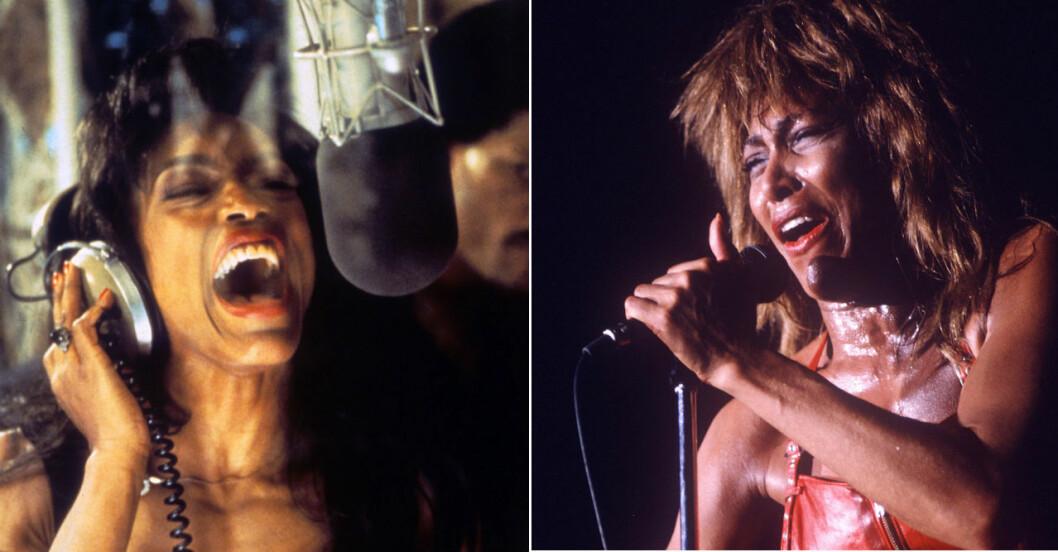 Angela Bassett som Tina Turner.