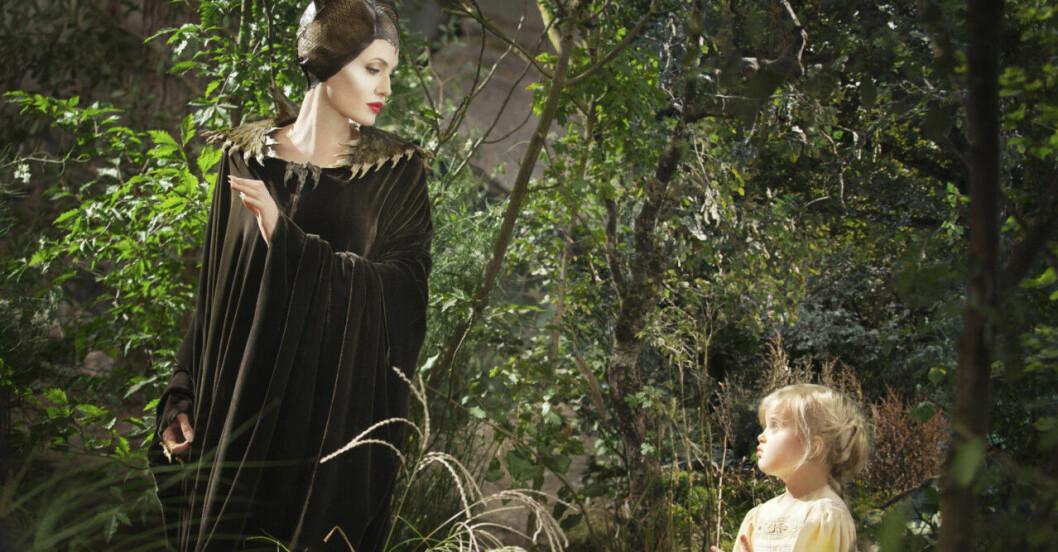 Angelina Jolie och Vivienne Jolie-Pitt