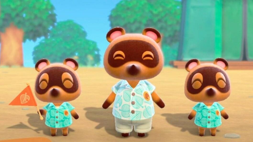 I Animal Crossing New Horizons skickar Tom Nook iväg dig på semester.