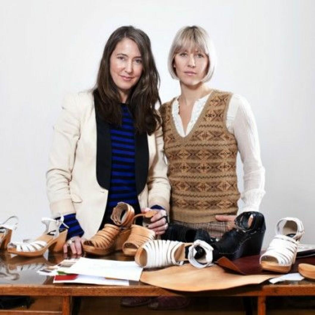 Ann-Sofie Johansson och Emy Blixt, grundare och designer, Swedish Hasbeens.