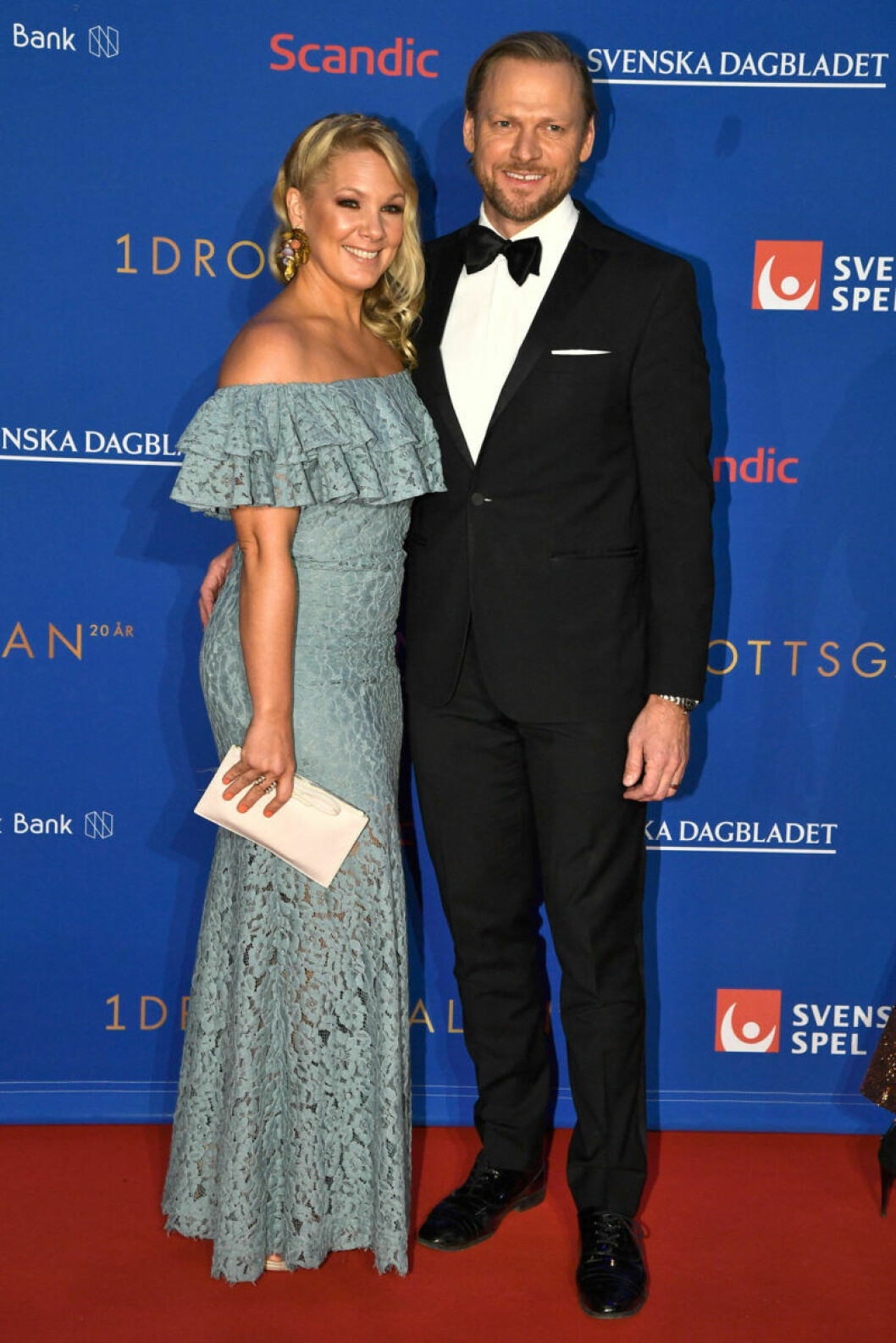 Röda mattan, Anna Brolin och Jesper Rodhborn