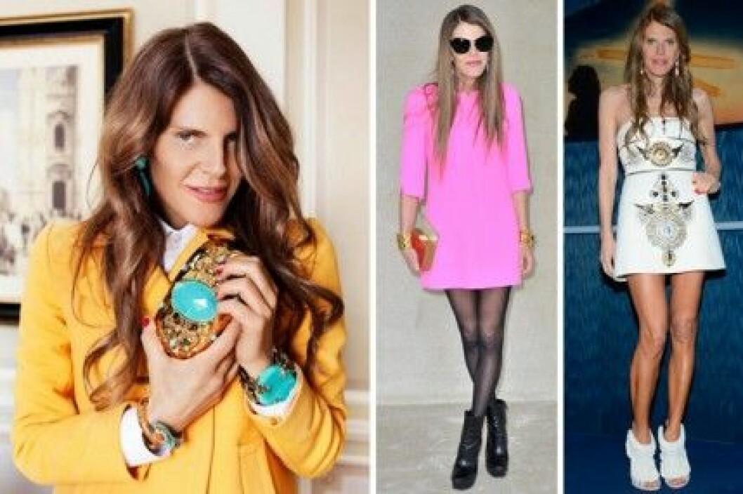 Anna Dello Russo har designat en egen accessoarkollektion för H&M.