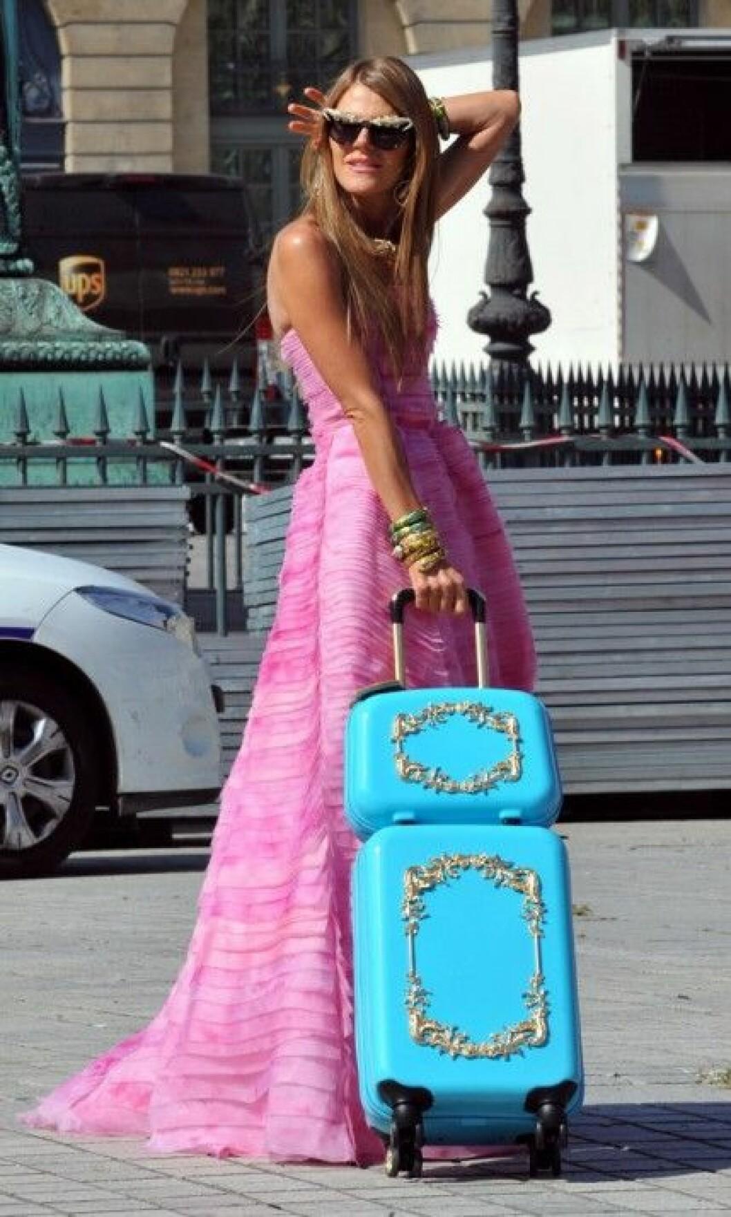Anna Dello Russo är alltid lika stylish. Foto: Stella Pictures