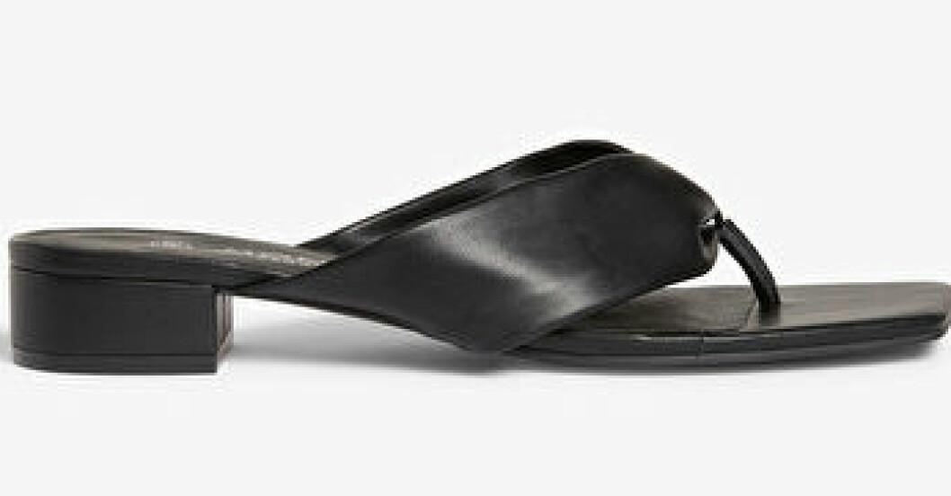 flipflop-sandaler med klack