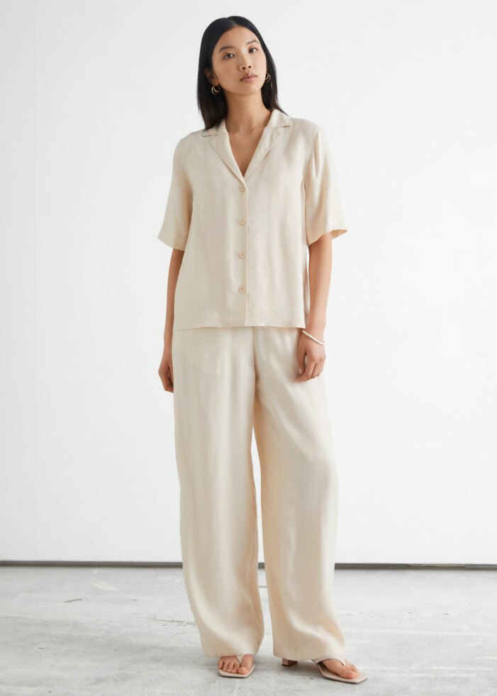 snyggt loungewear i beige från & Other Stories
