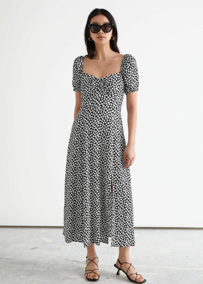 rutig klänning från & Other stories