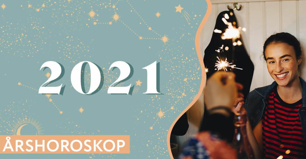 Årshoroskop 2021 för ditt stjärntecken på Baaam