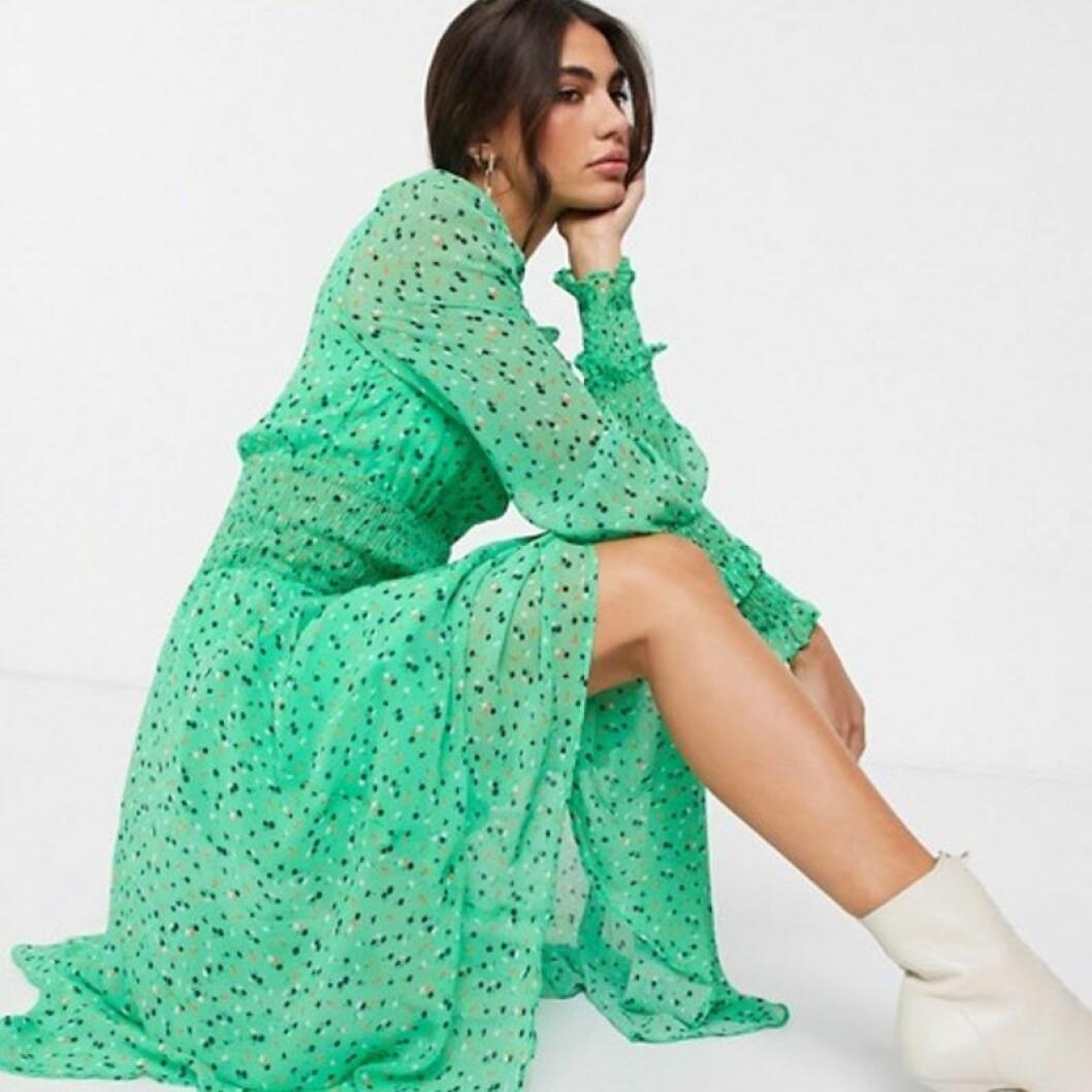 Grön klänning från Asos
