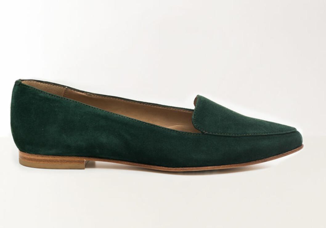Gröna loafers till våren 2019 vårskor