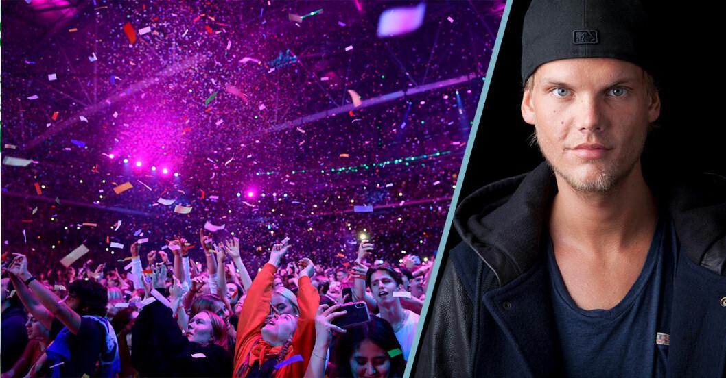 Avicii hyllningskonsert Friends arena