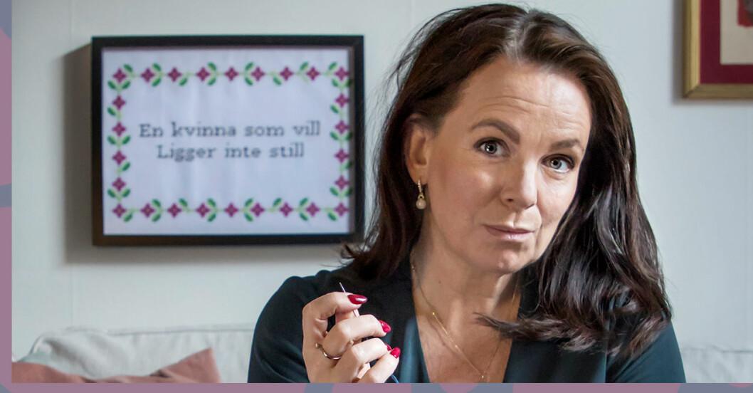 Katarina Wennstams nya podcast – där mäns våld mot kvinnor tas på allvar.