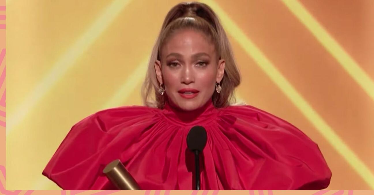 Peoples Choice Awards - Jennifer Lopez.