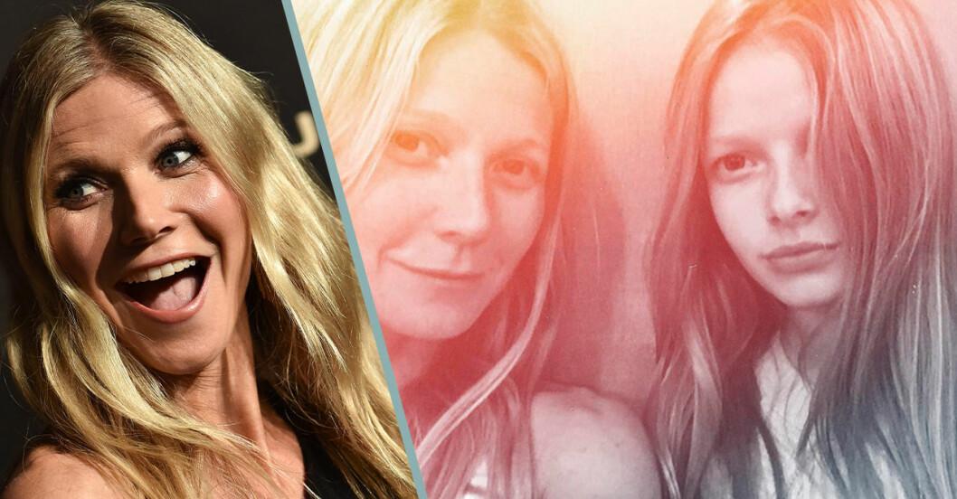 Gwyneth Paltrows lycka efter insikten om 16-åriga dottern Apple.