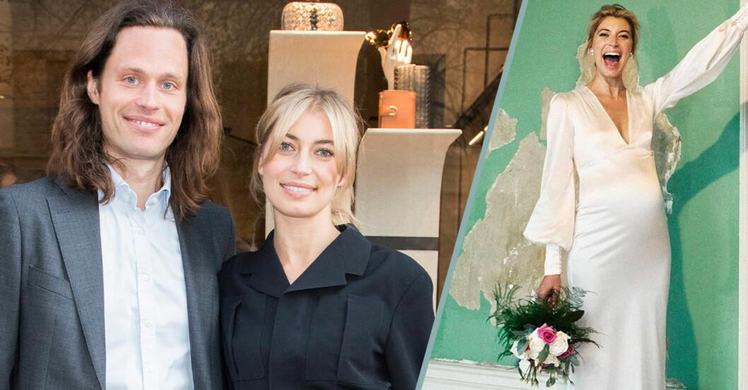 Cissi Forss byter namn efter hemliga bröllopet med Fredrik!