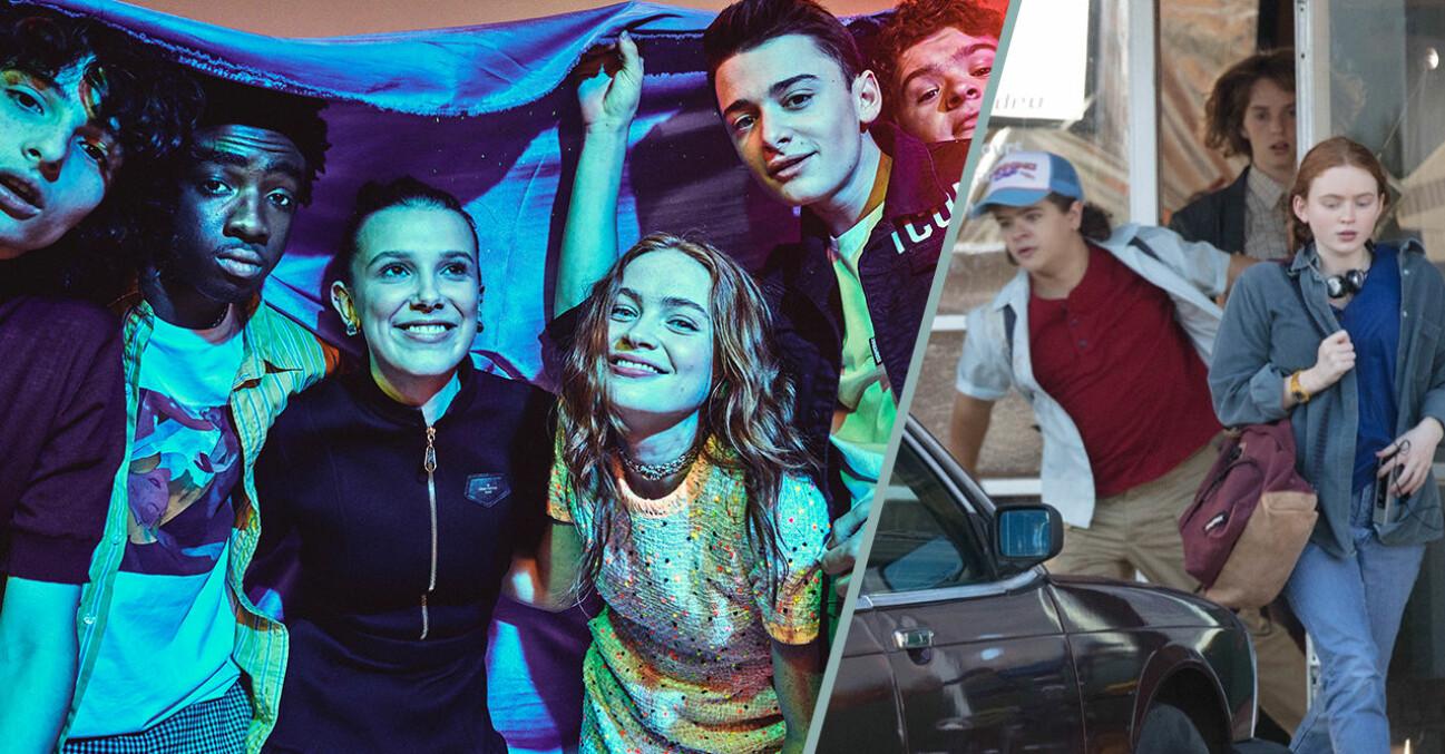 På inspelningsplatsen av Stranger things 4 har man skymtat Uma Thurman och Ethan Hawkes barn – Maya och Levon Hawke!