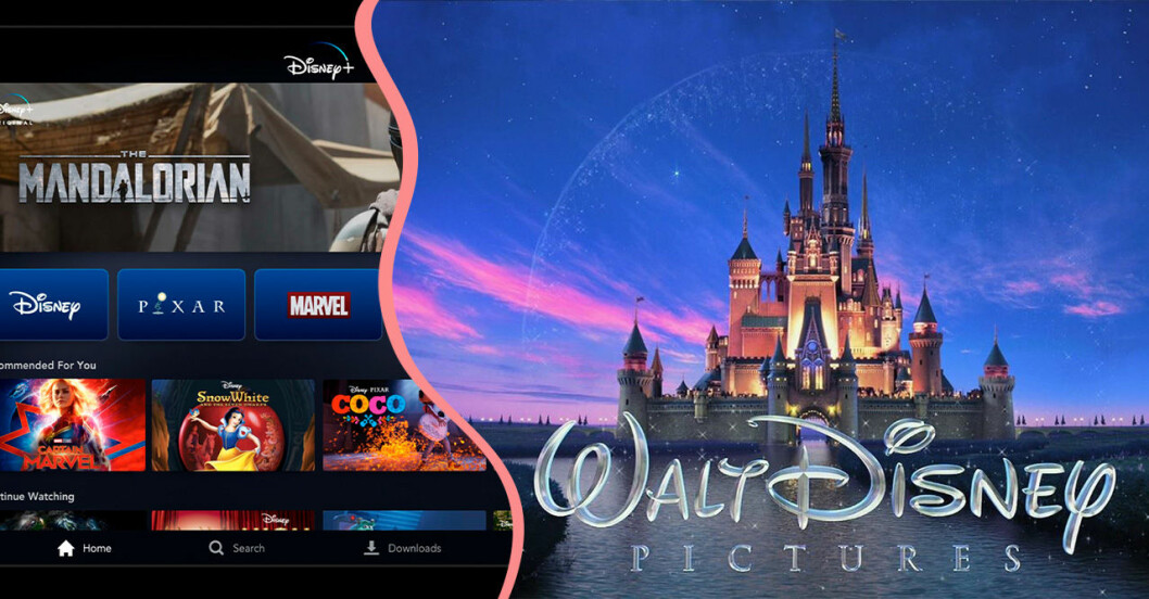 Disneys nya streamingtjänst Disney+.