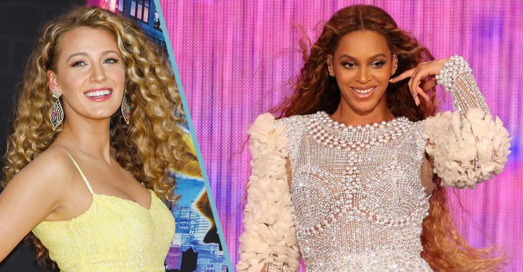 Blake Lively och Beyoncé