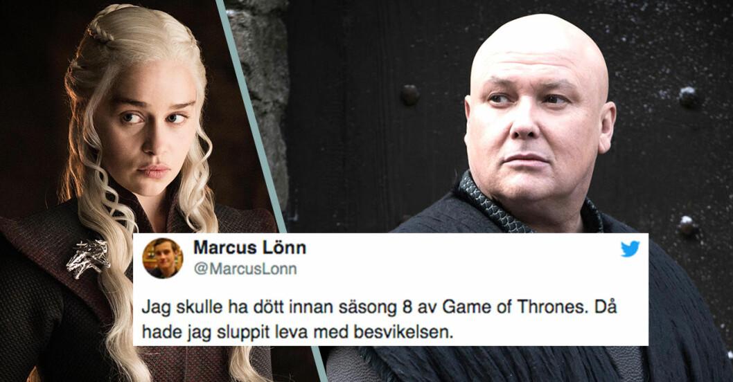 Daenerys och Lord Varys i Game of Thrones avsnitt 5 säsong 8.