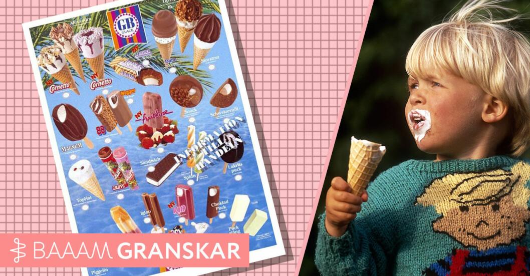 Var glassarna större på 90-talet Baaam granskar