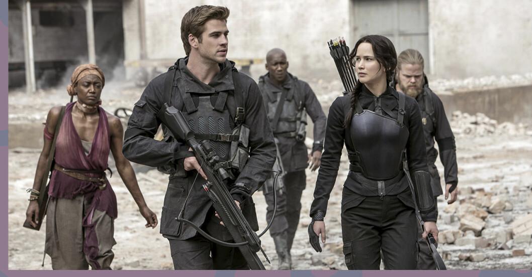 Jennifer Lawrence i The Hunger Games