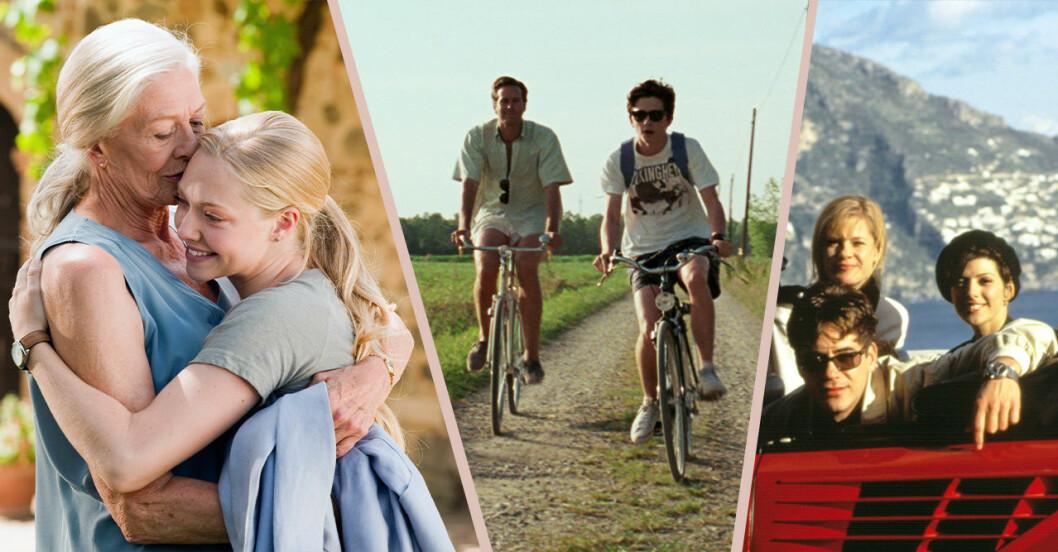 Filmer som utspelar sig i Italien