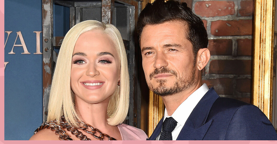Katy Perry och fästmannen Orlando Bloom