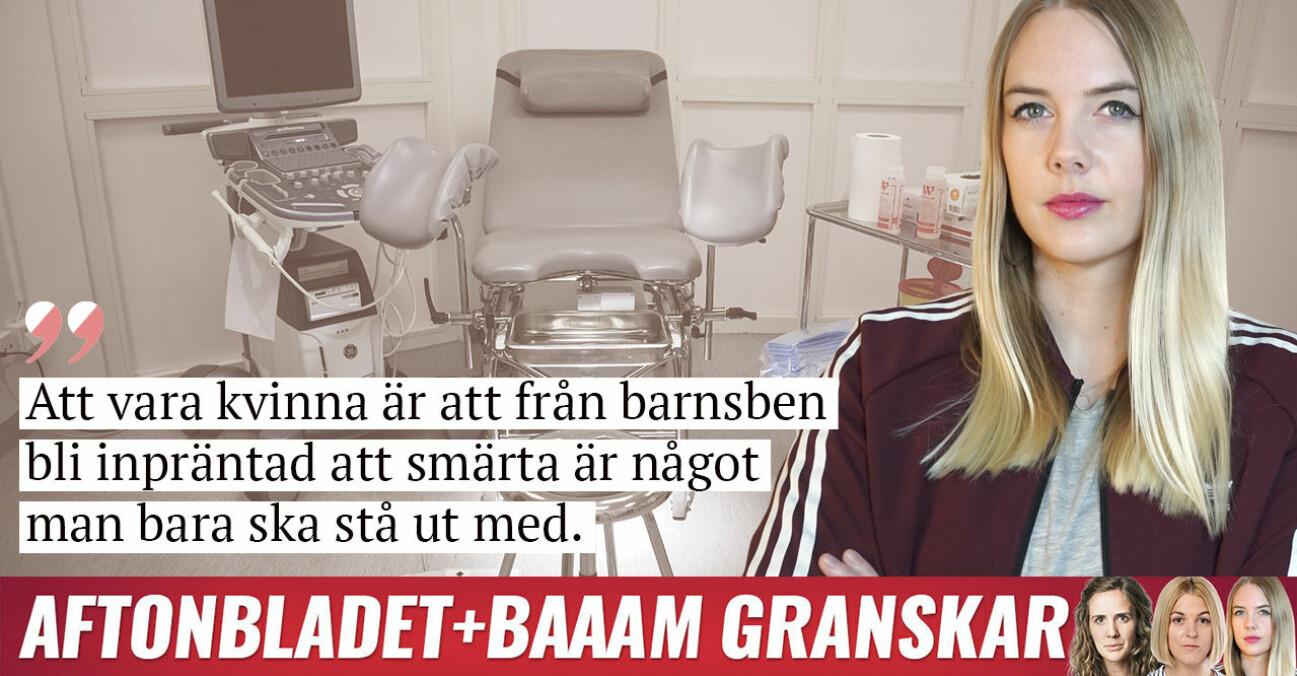 Nathalie Mark krönika om vestibulit i samarbete med Aftonbladet