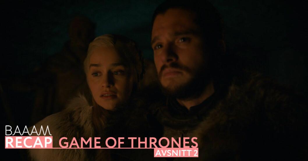 Baaam recap: Game of thrones säsong 8 avsnitt 2