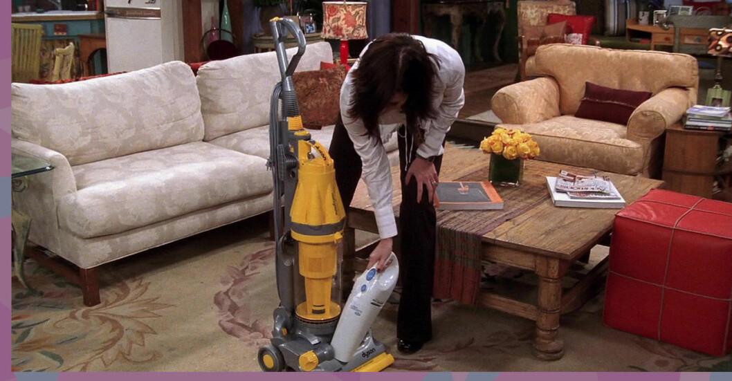 Monica i Vänner städar