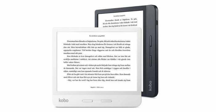 Baaam testar läsplatta – Kobo Libra H20