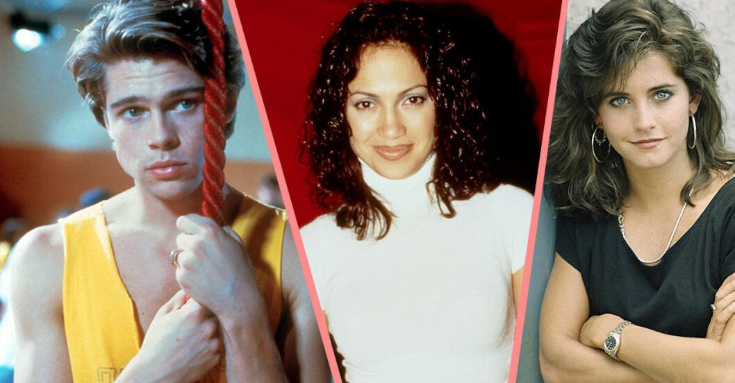 Brad Pitt, Jennifer Lopez och courtney cox