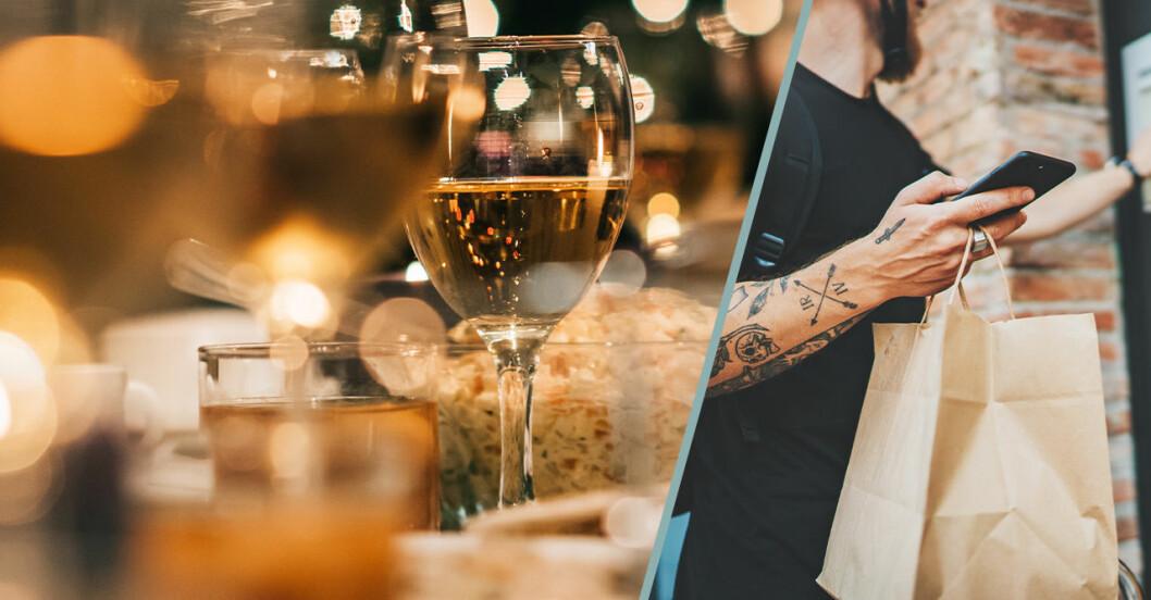 Här tillåts hemleverans av alkohol – restauranger kör hem mat och dryck.