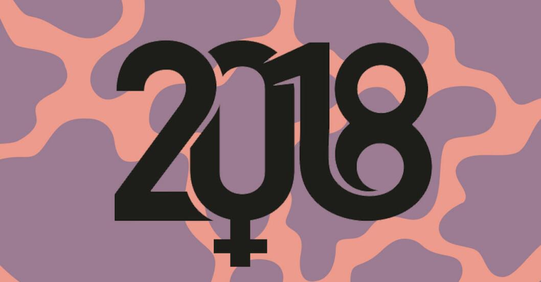 Feministiska framsteg 2018.