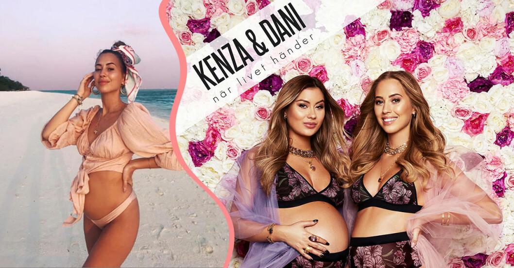 Kenza startar podd om graviditet med Dani.