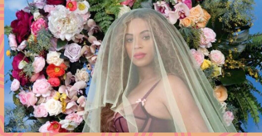 Beyoncés gravidbild gjorde succé på Instagram.