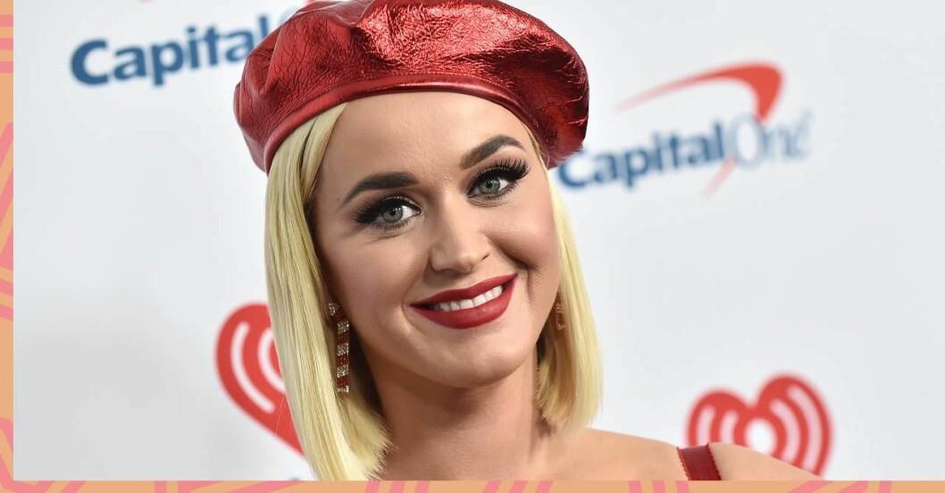 Katy Perry höll graviditeten hemlig.