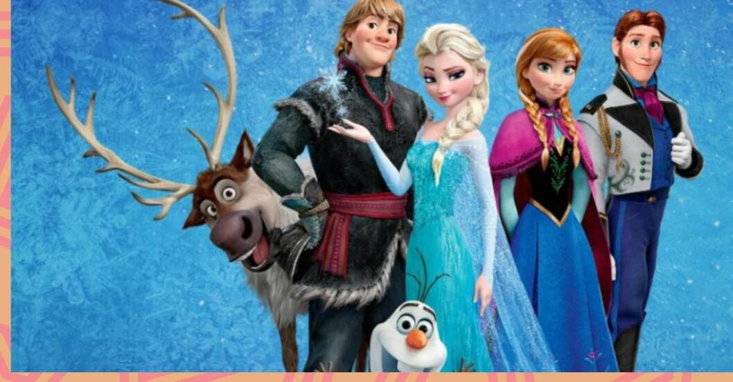 Barnnamn som är inspirerade av Disney.