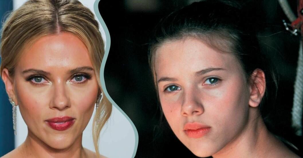 Scarlett Johansson slog igenom som barn.