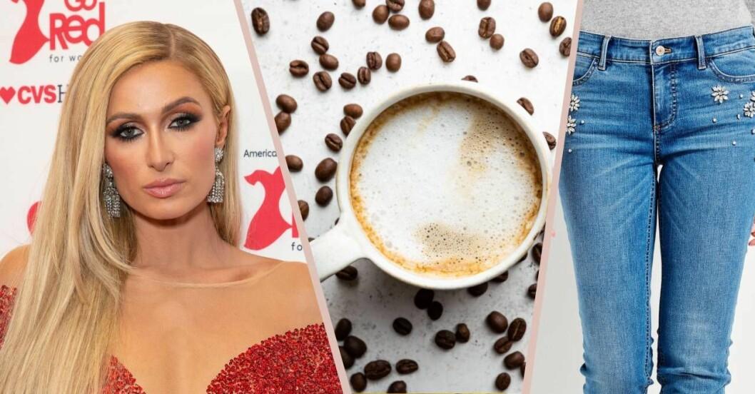 sidbena, kaffe och stuprörsjeans