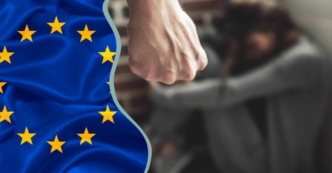 eu-lag kan ge skärpta straff för våld i nära relation