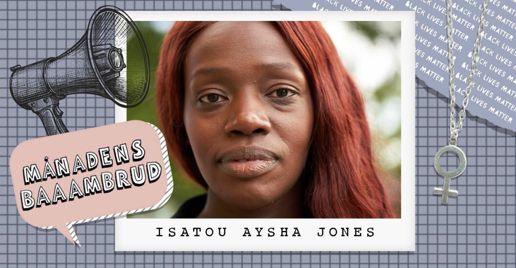 BLM Swedens grundare Aysha Jones.