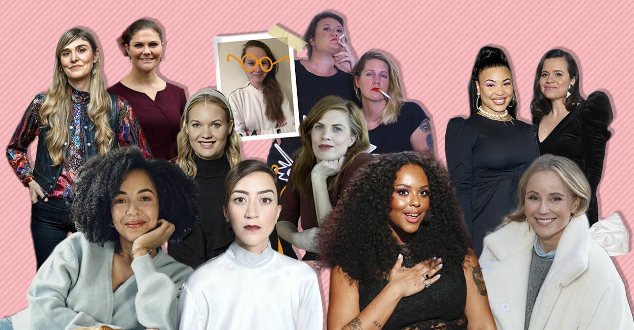 Baaams lucia-kvinnor 2020: Lisa Langseth, kronprinsessan VIctoria, Flashback forever, Asabea Britton, Emma Frans, Lydia Sandgren, Amie Bramme Sey, Fanna Ndow Norrby, Caroline Ringskog Ferrada-Noli, Sofia Helin och Gizem Erdogan.