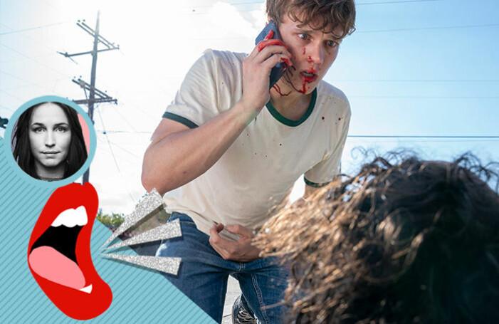 Baaams Sofia Börjesson tipsar om serien Your Honor på HBO, på bilden syns en tonåring stå blodig över en livlös kropp.