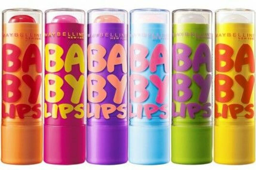 Baby Lips från Maybelinne lanseras i slutet av april och kostar 39 kr.