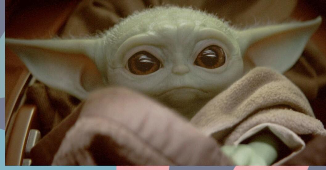 Baby Yoda finns i The Sims 4