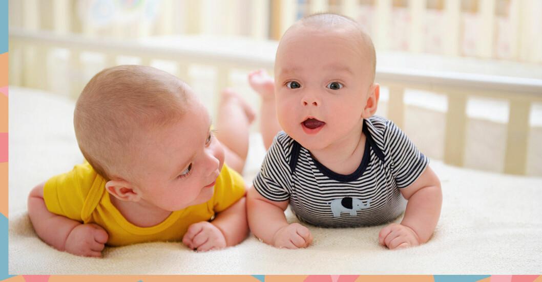 Namn som matchar varandra för syskon eller tvillingar