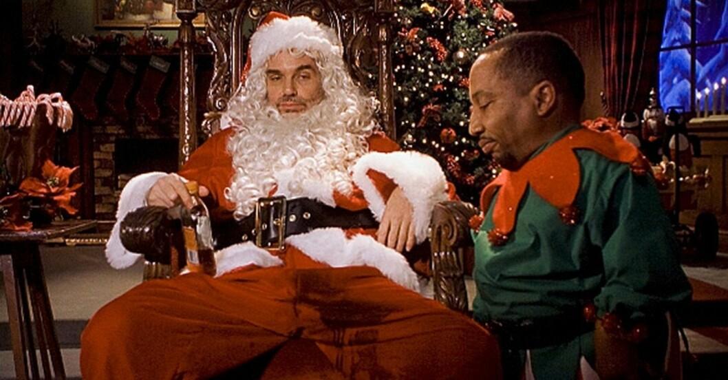 Billy Bobby Thornton som tomte i bad santa