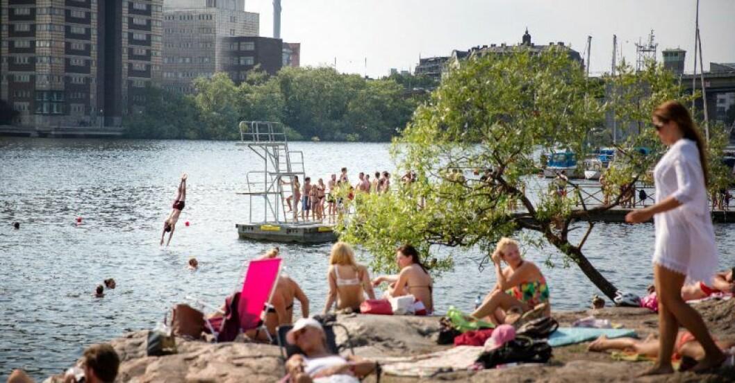 badplatser stockholm